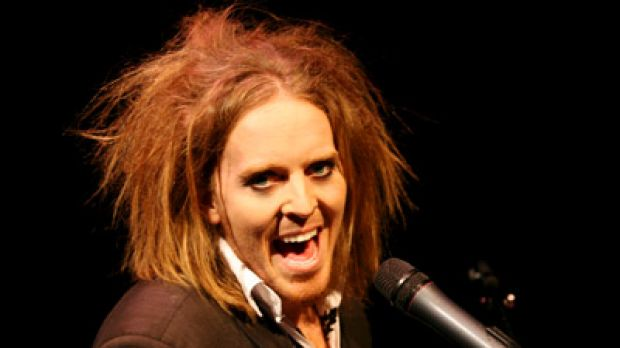 Tim Minchin ... surprising on and off stage, and even on a deserted island.