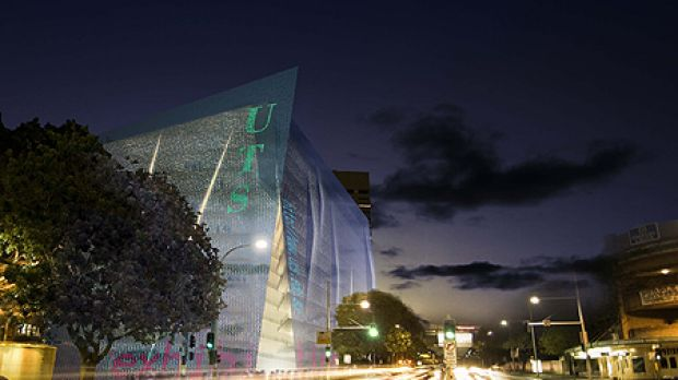 Transformation ... the new building will glow and pulsate with embedded LED lights at night and will create a dramatic ...