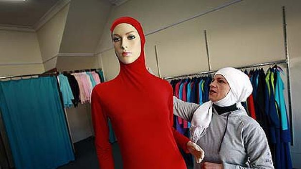A 'burqini', a swimsuit designed to protect the modesty of Muslim women.