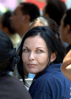 Tormented ... Schapelle Corby  last year.