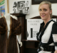 Ring in . . . women's clothing and goods retailer Penny Flanders uses her BlackBerry to liaise with some 1500 online ...