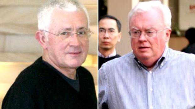 Ron Medich (left) stands to gain millions...Graham Richardson (right) was paid $25,000 to lobby for Medich.