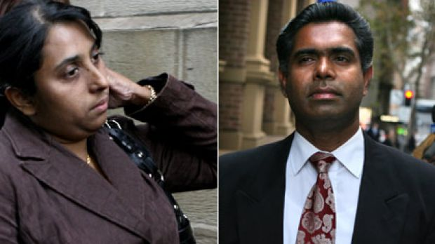 Sentenced to four and six years ... Manju and Thomas Sam let their daughter suffer ''helplessly and unnecessarily''.