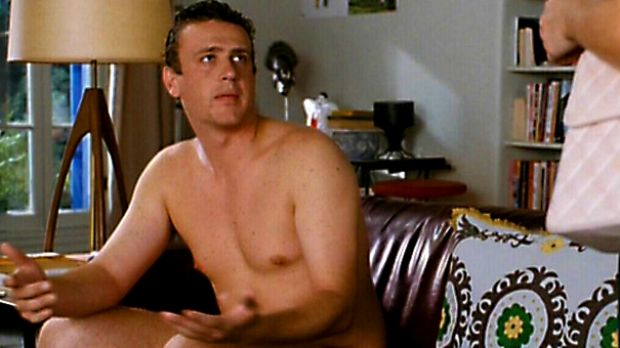 """Jason Segal: a pin up for the """"dad bod"""" lovers."""