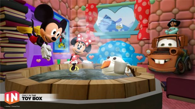 Classic Disney mascotsand Pixar characters feature in <i>Infinity 3.0</i> as well.