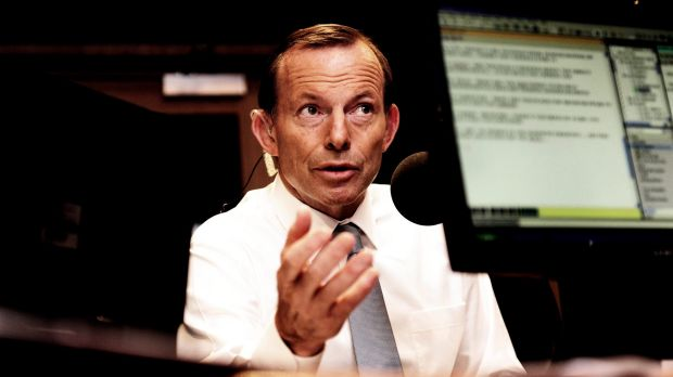 Prime Minister Tony Abbott refused to say whether he condoned the idea of Australia paying people smugglers to turn ...