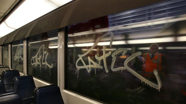 Price tags: The state spent about $34 million last year removing graffiti.