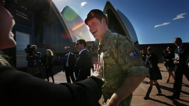 Prince Harry had a ball on his visit to Australia in May.