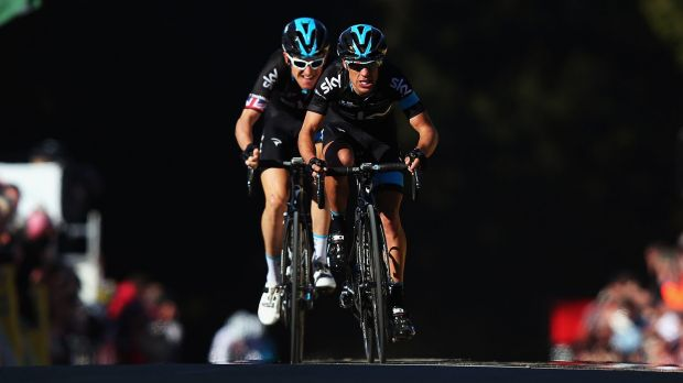 Sky high: Richie Porte will carry hopes for the Sky team at the Giro d'Italia, which starts on Saturday.