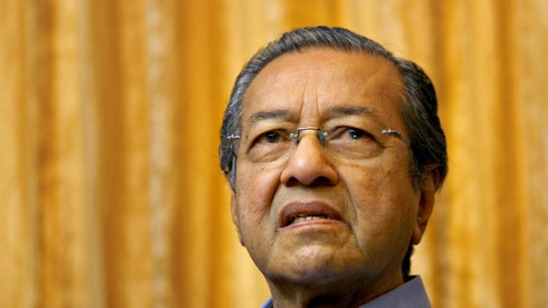Enduring presence: former Malaysian prime minister Mahathir Mohamad.
