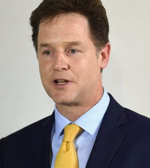 Resigned as leader of the Liberal Democats: Nick Clegg.