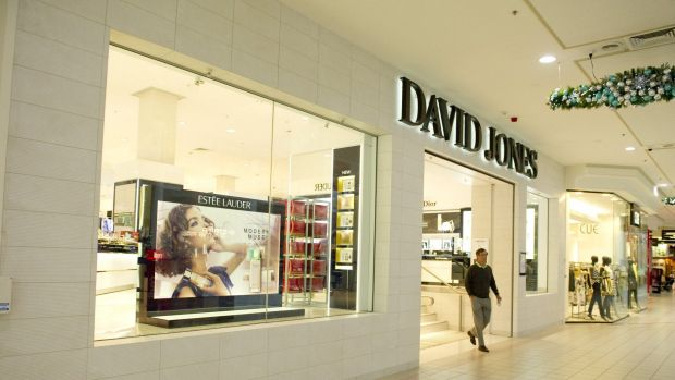 The David Jones store in the Canberra Centre .