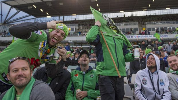 Will cheaper food prices bring the crowds back to Canberra Stadium?