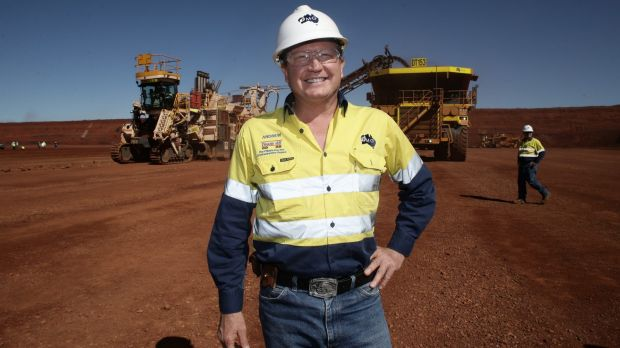 Andrew Forrest is possibly the best salesman in Australia - to a point.