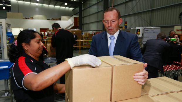"Tony Abbott said the $1.5 billion originally given to Victoria for the East West Link would remain in ""a locked box""."