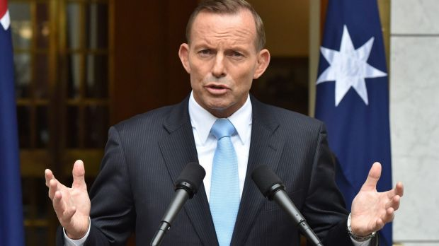 Prime Minister Tony Abbott told colleagues that the government's approach to defence and security was popular with ...