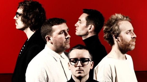 Hot Chip: Alexis Taylor made the concert hall the perfect dance room.