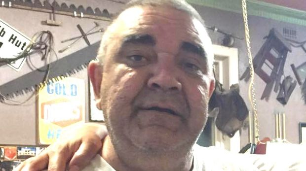 Darren Bell, 47, who died after being knocked unconscious after a football game in Heywood.