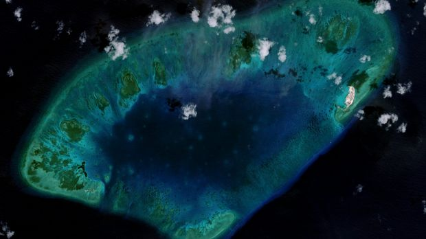 West London Reef in the South China Sea in 2015. Vietnam has carried out significant land reclamation in the region but ...