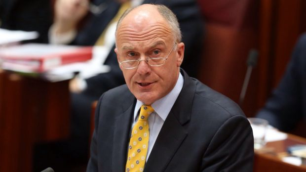 Government leader in the Senate Eric Abetz opposes same-sex marriage.