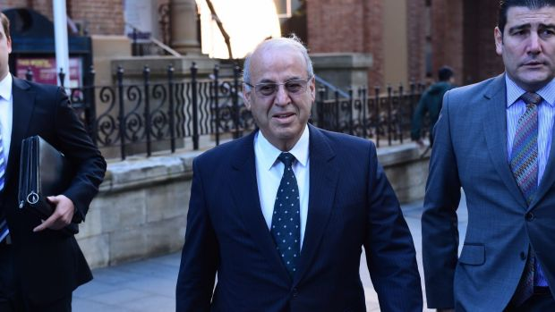 Eddie Obeid outside the Supreme Court in May this year.