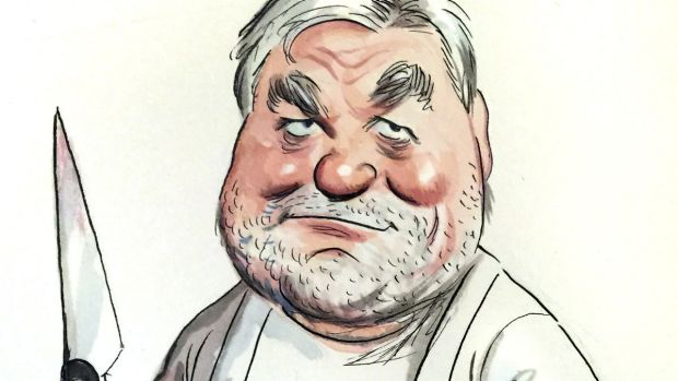 Peter Bush is a cut above the rest. <i>Illustration: John Shakespeare</i>