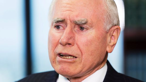 "John Howard said it was ""one of the most ridiculous propositions"" that Australia had to choose between having a strong ..."