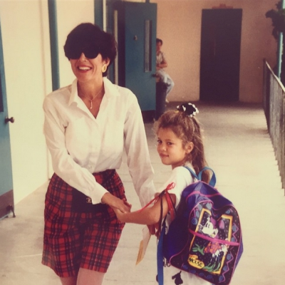 Khloe Kardashian shared this picture with mum Kris Jenner for Mother's Day.