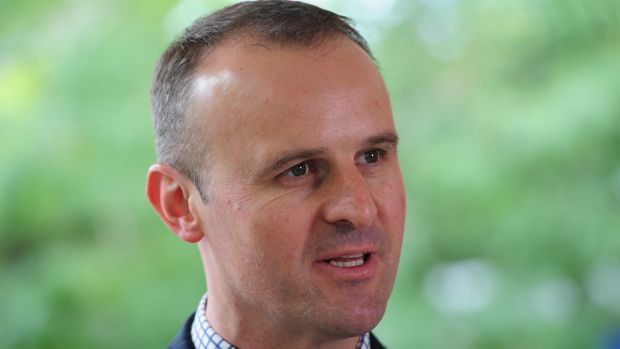 """ACT Chief Minister Andrew Barr said exporters out of Canberra stood to """"benefit greatly"""" from a China free trade agreement."""