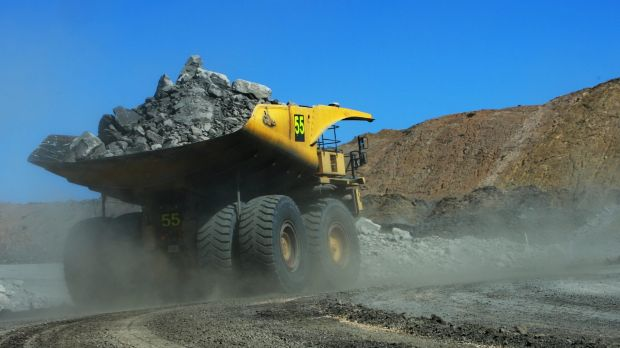 M&A activity and higher iron ore prices lifted mining companies on Monday.