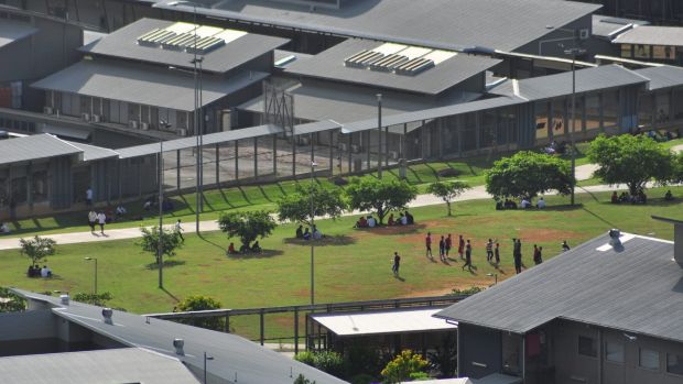 Or maybe this... the Christmas Island Detention Centre.