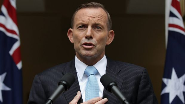 "Prime Minister Tony Abbott: ""We want to look at really lifting our game when it comes to dealing with the scourge of ..."