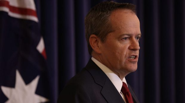 """Opposition Leader Bill Shorten: """"Our current law excludes some individuals, and to me, that is unacceptable."""""""