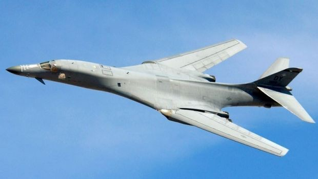 Bound for Australian skies? The US B-1 Bomber.