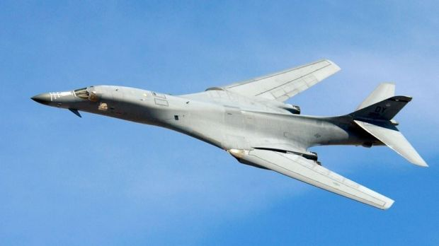 The US B-1 Bomber.