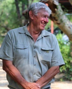 Ray Dearlove, the founder of the Australian Rhino Project.