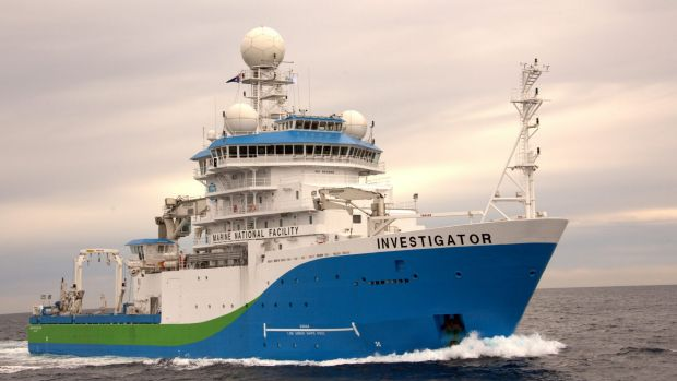 The RV Investigator, CSIRO's $126 million research vessel, will be home to 40 scientists for the next month.