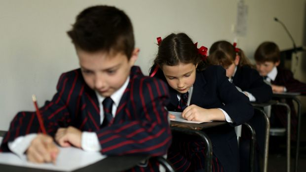 """One study of """"NAPLAN belly"""" found school students vomited, cried and stayed away from the tests."""