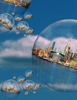 There are fears property bubbles are forming in Sydney and Melbourne.