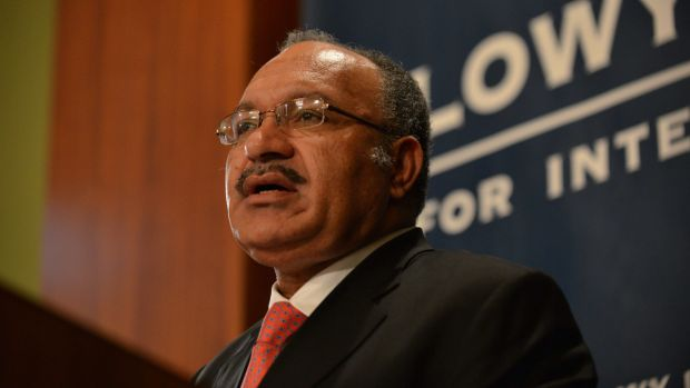 Papua New Guinea Prime Minister Peter O'Neill gave a talk at the Lowy Institute in Sydney last Thursday.