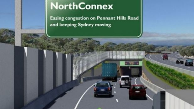 The operator of NorthConnex will be paid compensation if not enough trucks use the 9 kilometre motorway