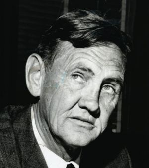 Former PM John Gorton did not pass much legislation in his first two years in office.