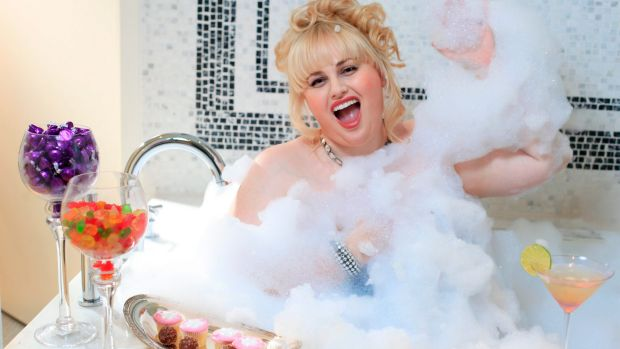'You're a lady, don't say your age': Rebel Wilson.