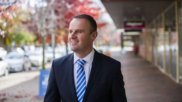 ACT Chief Minister Andrew Barr wants to see more leadership on tax reform.