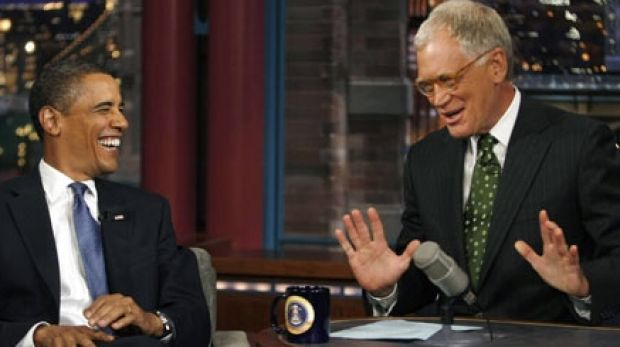 David Letterman had a genuine rapport with US President Barack Obama.