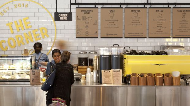 The corner in Sydney serves lentils, chipotle pulled pork and craft soft drink.