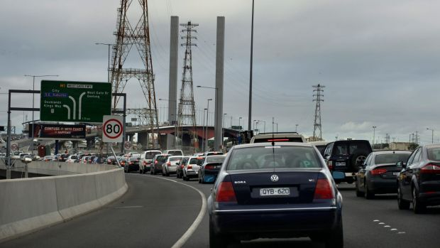 More gridlock on the Bolte Bridge looms. But things will ease once the work is done.