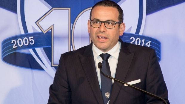 Top contender: The Victory's Anthony Di Pietro has sound credentials.
