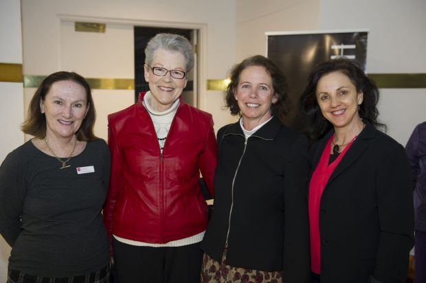 Diana Richards of New Acton, Belle Alderman of Kingston, Jane Carstens of Weetangera and Anna Comerford of Monash.