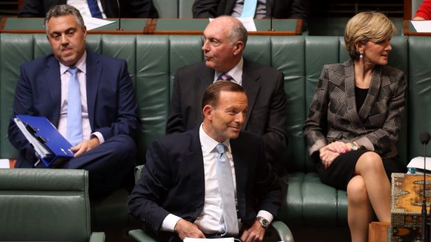 "The Abbott government has enjoyed a surge in popularity after its second, seemingly ""fairer"", budget."